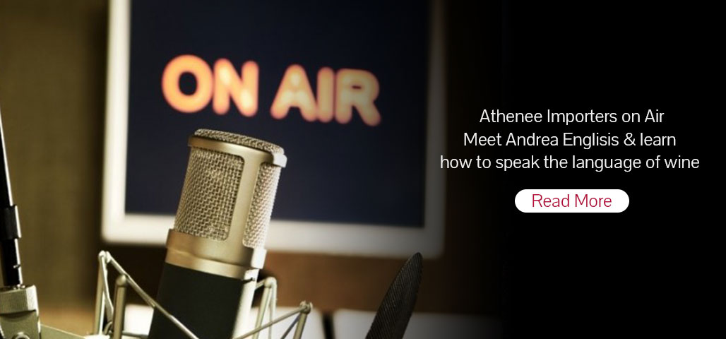 Athenee Importers on Air-Meet Andrea Englisis & learn how to speak the language of wine